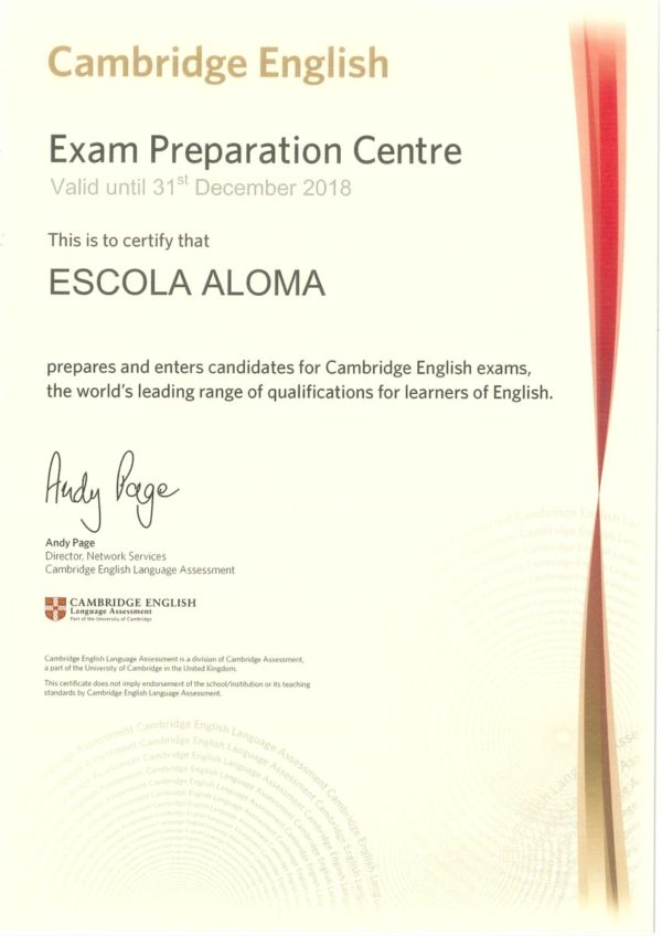 Exam Preparation Centre Cambridge Certification