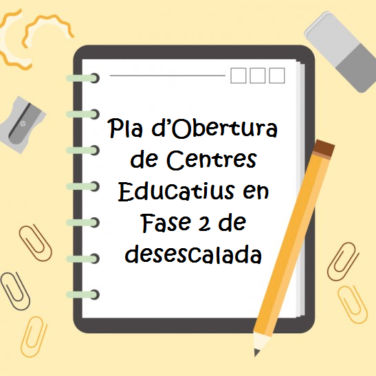 obertura centres educatius desescalada
